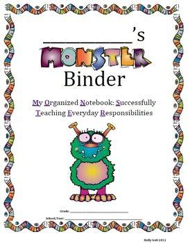 Preschool homework folder ideas